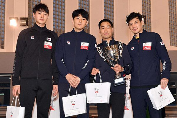 Südkoreanische Säbelfechter erreichen Platz zwei bei Weltcup in Warschau