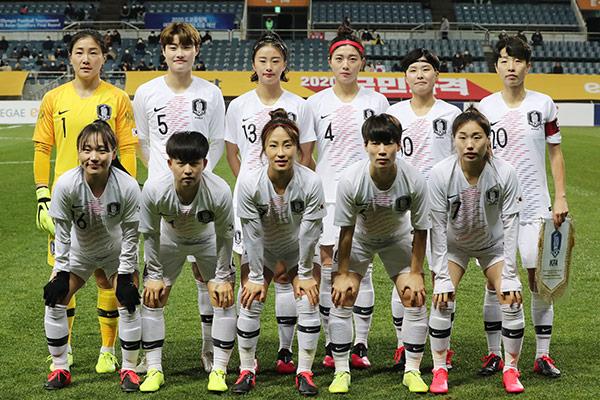 Südkoreas Fußballerinnen auf Rang 18 der FIFA-Weltrangliste