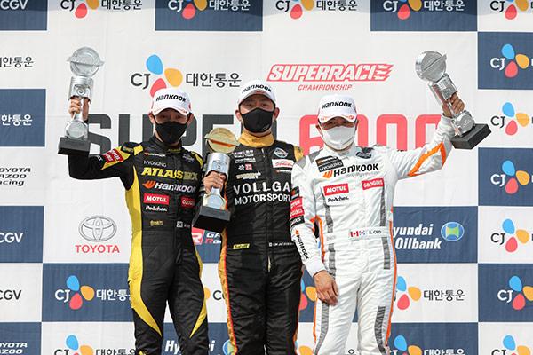 Motorsportler Kim Jae-hyun gewinnt dritte Runde der Superrace Championship