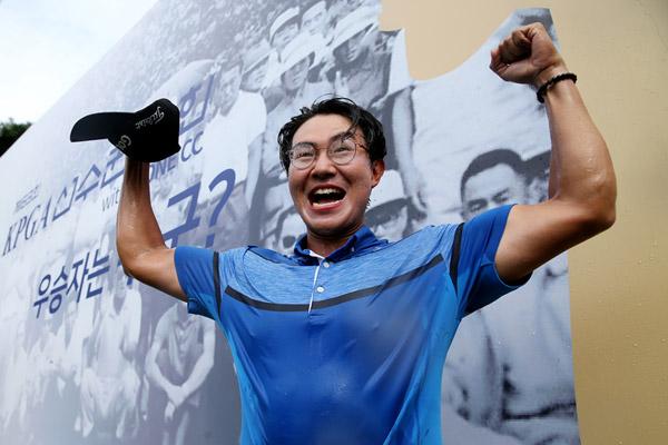 Profigolfer Kim Sung-hyun gewinnt KPGA-Meisterschaft