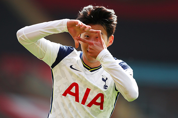 Son Heung-min auf Spitzenrang des Sky Sports' Power Ranking