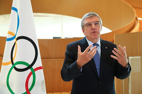 IOC-Chef Thomas Bach empfängt Seoul Friedenspreis