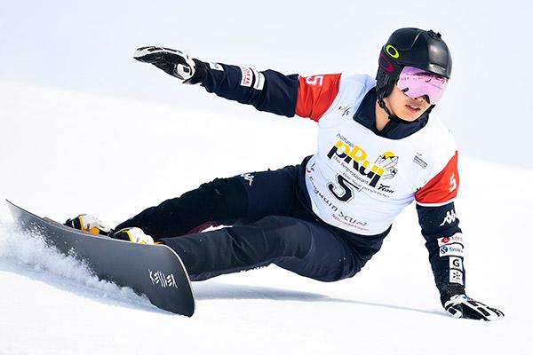 Snowboarder Lee Sang-ho erreicht erstmals in dieser Saison Weltcup-Finale