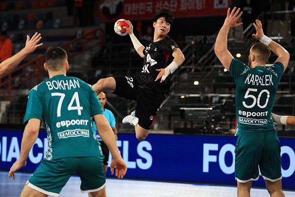 Südkoreanische Handball-Mannschaft scheidet in WM-Gruppenphase aus