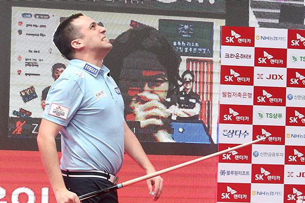 Spanischer Billardspieler David Zapata gewinnt höchstdotiertes Turnier in Seoul