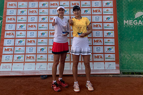 Südkoreanisches Frauen-Doppel gewinnt Tennis-Turnier in Antalya