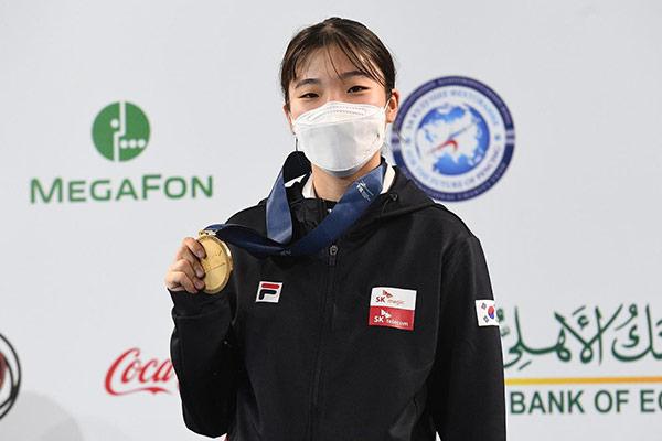 Säbelfechterin Jeon Ha-yeong gewinnt Junioren-WM