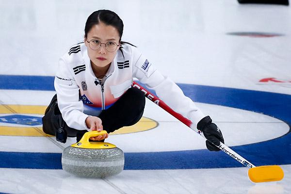 Südkoreanische Curlerinnen gewinnen bei WM gegen Schottland
