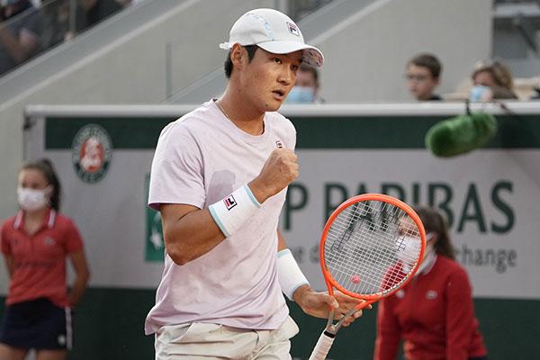 Kwon Soon-woo bei French Open in dritter Runde ausgeschieden