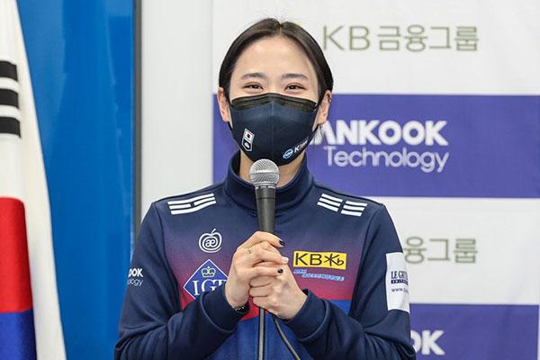 """Curlerin Kim Cho-hee von Experten als beste """"Second-Spielerin"""" geehrt"""
