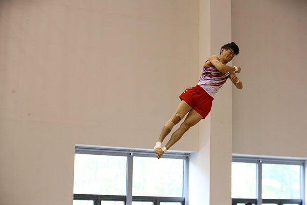 Turn-Star Yang Hak-seon löst Olympia-Ticket