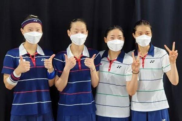 Badminton-Frauen werden bei Mannschafts-WM Dritte