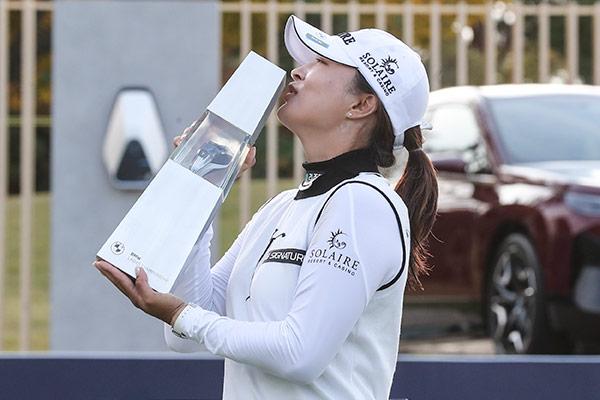 Ko Jin-young nach Sieg beim LPGA-Turnier in Busan wieder Weltranglistenerste