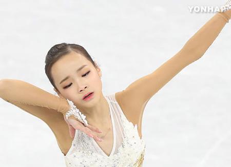 林恩秀问鼎韩国冬季运动会花滑女单冠军