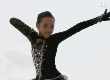 林恩秀花滑世青赛排名第4位
