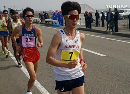 Kim Hyun-seop wird bei Leichtathletik-WM 2017 26. im 20-km-Gehen