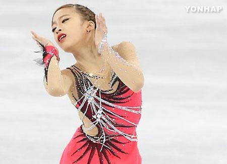 柳英花样滑冰世青赛第7站排名第5位