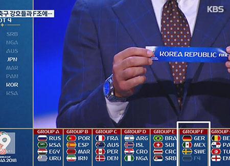 WM-Auslosung: Südkorea spielt gegen Deutschland, Schweden und Mexiko