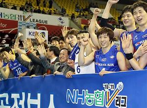 Jumbos de Korean Air, vainqueur de la V-League