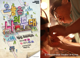 National Theater of Korea's Be an Actor for the Day Program for Children