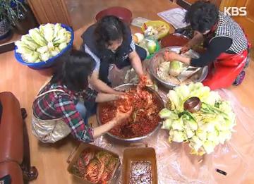 おいしい冬を送るための準備、韓国のキムジャン