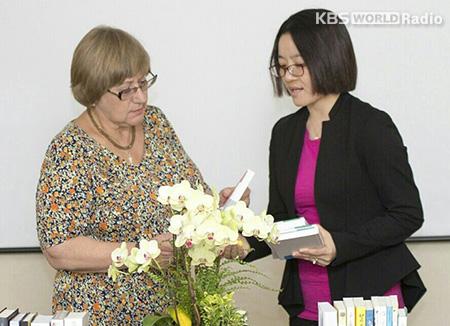 Переводчик корейских художественных произведений Сын Чжу Ён