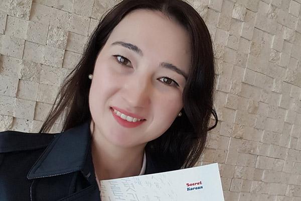 Гульноз Бикбаева из Узбекистана