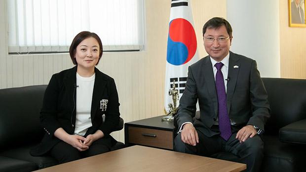 Посол Казахстана в Корее Дюсенбаев Б.А. Часть 2.
