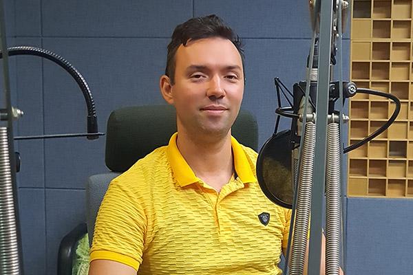 Основатель благотворительного фонда LIMEP Андрей Бланк из Украины