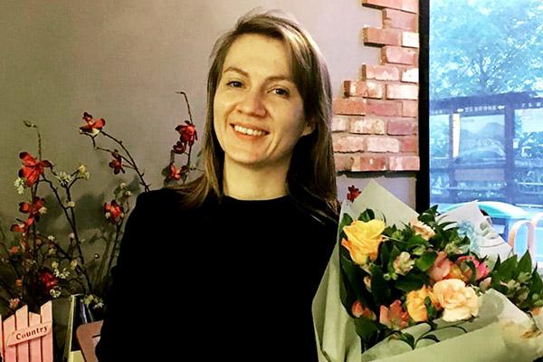 Флорист Екатерина Воробьева из России