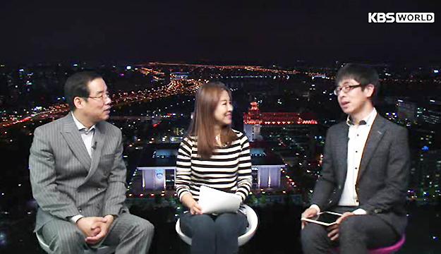 中国青年在韩国