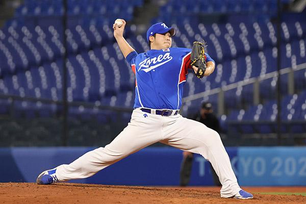 Olympia in Tokio: Südkoreas Baseballmanschaft verliert gegen USA mit 2:4