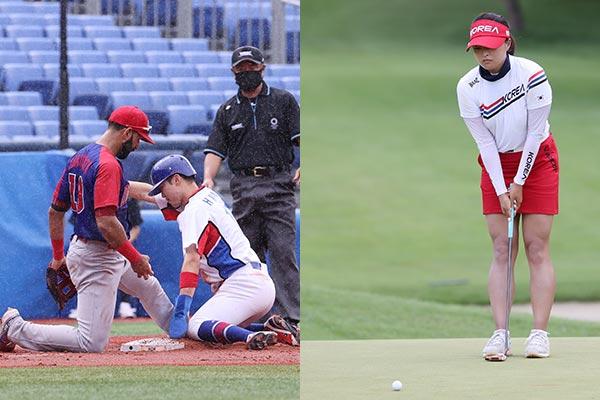 JO de Tokyo : échec en baseball et en golf, espoir en volleyball