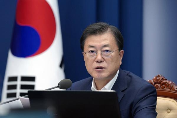 Tổng thống Moon Jae-in gửi lời cảm ơn, khích lệ các vận động viên Hàn Quốc tham dự Olympic