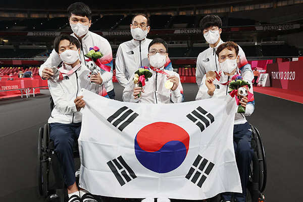 S. Korea Adds 2 Silver Medals in Table Tennis at Tokyo Paralympics