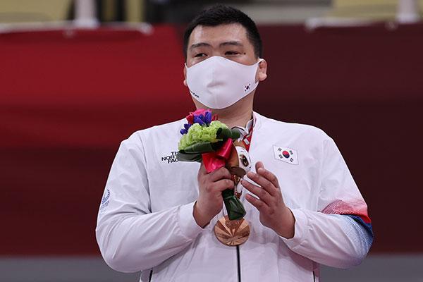 東京パラリンピック 柔道男子100キロ超級でチェ・グァングンが銅