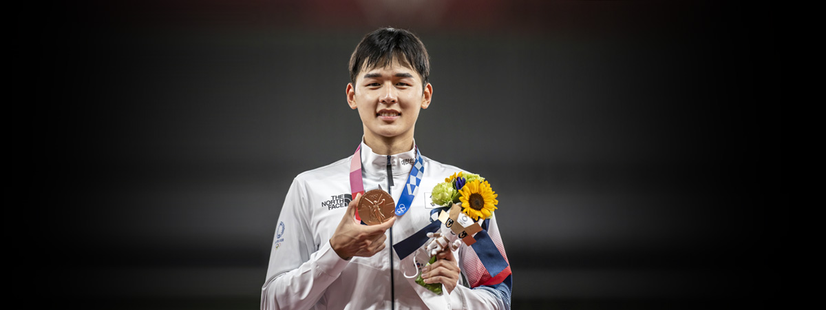 Olympia in Tokio: Jun Woong-tae gewinnt Bronze im Modernen Fünfkampf