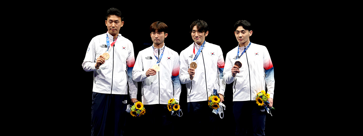 У южнокорейских саблистов золото на Олимпиаде в Токио